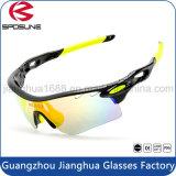 2016 nuevas gafas de sol al por mayor UV400 China del gato 3 Creat su propia marca de fábrica polarizada con los anteojos de ciclo del golf del voleibol de la pieza inserta de la miopía