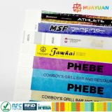 Customized Festival Party Disposable Tyvek ID Wristband for Vents