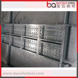 Passerella principale dell'acciaio del sistema dell'armatura del blocco per grafici di qualità