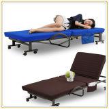 Двукратная кроватка складывая экстренную кровать для запасной части гостиницы/домашних гостя/сада