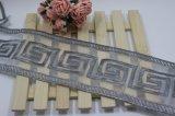 Breiten-Stickerei-Organza-Netz-Spitze-Ineinander greifen-Spitze des Fabrik-auf lager Großverkauf-8cm für Kleider/Hauptgewebe /Curtains Accesssory