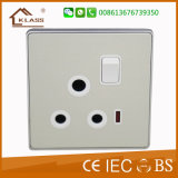 UK Style Metal Clad Home Use Electric Light Switch