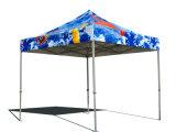 カスタムロゴの頑丈なおおいのテント、展示会の折るテント