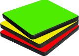 Ламинат компакта текстуры поверхностный обшивает панелями 6mm