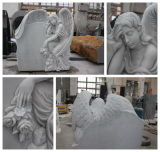Carving superiore Angel Sculpture Memorials Headstone da vendere