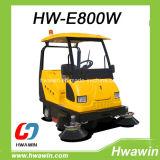 Straßen-Reinigungs-Kehrmaschine mit Golf-Auto-Dach und vorderer Windschutzscheibe