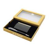 Ventana de clásico y elegante caja de almacenamiento de la caja de regalo de papel