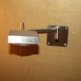 Hotel-dekorative drehbare Satin-Nickel-Kopfende-Lesewand-Lampe