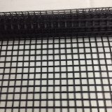 PVC 코팅을%s 가진 100kn 날실에 의하여 뜨개질을 하는 축이 둘 있는 폴리에스테 Geogrid