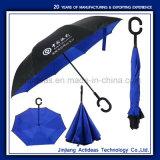 C Форма рукоятки заднего хода на двухслойные автомобилей рекламных зонтик