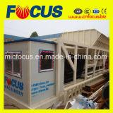 Beweglicher beweglicher Beton-stapelweise verarbeitende/Mischanlage mit der Kapazität von 25/35/50/60/75/100/120cmb pro Stunde