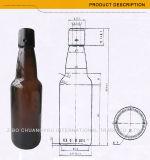 Янтарные/ясные бутылки пива верхней части качания цвета с верхней частью качания (1062)