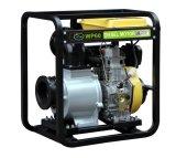 L'Irrigation Diesel 6pouce de pompes à eau avec un grand réservoir de carburant et démarrage électrique (DP60)