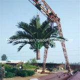 гальванизированные Hot-DIP 5-50m Средств-Развевают башня вала телекоммуникаций
