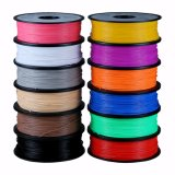 2017 filament chaud de PLA de la matière plastique 3mm d'impression de vente 3D