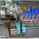 Máquina gemela cónica plástica del estirador de tornillo del tubo del PVC