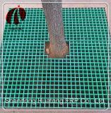 Rejilla de plástico reforzado con fibra de alta resistencia de rodadura de la escalera