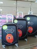 安い価格のABSトロリー荷物のHardshellの荷物袋のトロリー荷物セット