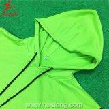 Школа Hoodies сублимации износа спортов зеленого цвета краски Healong для сбывания