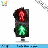 Dinámica Rojo Verde señal de luz LED del pavimento peatonal Semáforo