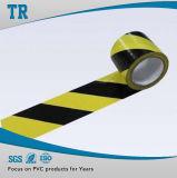 粘着テープの注意テープに警告する倉庫の床のマーキングテープ床