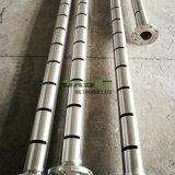 Heiße Verkaufs-Laser gekerbte umkleidende Rohre