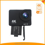 Новейшие 4K 2 дюймовый сенсорный экран спортивных действий камеры