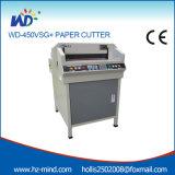 Fabricante numérico-control (WD-450VSG +) 450mm eléctrica cortador de papel