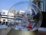 Раздувной рекламируя Snowball Trasparent продукта раздувной