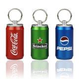 Coca-Cola Estaño unidad USB hecha del material del metal