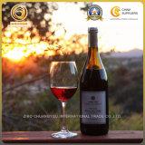 24 бутылки вина онлайновой службы 750ml часа стеклянных (1247)