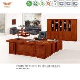 Het rode het Schilderen van het Comité Uitvoerende L-vormige Bureau van het Bureau (hy-nnh-k54-18)