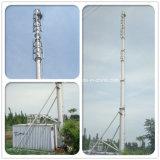 20m de altura do mastro de aço Tubular Monopole Torre de Comunicação