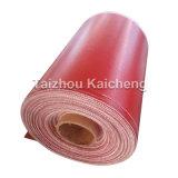 De Rode Silicone Met een laag bedekte Stoffen van uitstekende kwaliteit van de Glasvezel