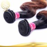 Bestes verkaufenton-Farben-Menschenhaar 100% der Jungfrau-Haar-indisches Karosserien-Wellen-drei