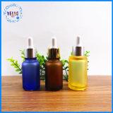 De kosmetische Verpakkende Fles van het Serum van het Druppelbuisje van het Huisdier 30/50ml