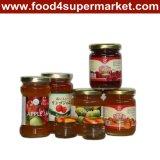 265g 병에 있는 과일 보존 식품
