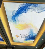 Глобальные сверкающие стекла цифровой струйной печати 5D УФ-печать