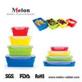 シリコーンの再使用可能な伸張のふたの食糧およびボールカバー