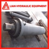 Cilindro hidráulico ativo dobro com o êmbolo de aço forjado Rod