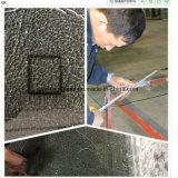porta gravada ácida do vidro do chuveiro do vidro Tempered do espaço livre de 4-12mm