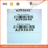 열 서류상 광택 또는 매트 박판 꼬리표 스티커를 인쇄하는 Barcode에 의하여 인쇄되는 레이블