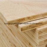 Rote Eichen-Furnier-Blatt Blockboard für Dekoration-Gebrauch