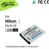 De nieuwe Decoderende Digitale Batterij van de Camera voor Engels-EL19 de Hoeveelheid van de Elektriciteit van de Vertoning Nikon