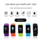 지능적인 팔찌 Bluetooth 방수 소맷동 혈압 심박수 혈액 산소 모니터 열량 단계