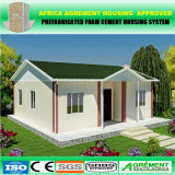 Chambre préfabriquée solaire simple en acier de tôle d'acier de couleur moderne de coût bas