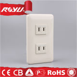 OEM Socket Supplier Double Extension Electric Wall Socket