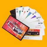 Tarjetas de publicidad de papel de encargo del póker de las tarjetas que juegan