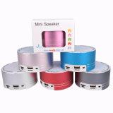 Spreker Bluetooth van de Legering van het aluminium de Mini met FM en Suppor USB Dirver