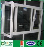 Finestra di alluminio di girata e di inclinazione per il disegno europeo (PNOC0068TTW)